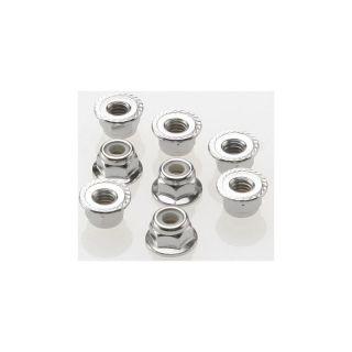 Matice samojistná s přír. ocel zink. M4 (8)