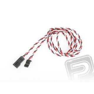 4612 J prodlužovací kabel 90cm FUT kroucený silný, zlacené kontakty