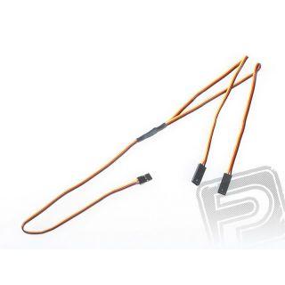 """4702 S """"Y""""-kabel JR plochý silný dlouhý (60cm)"""