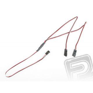 "4702 J ""Y""-kabel FUT plochý silný dlouhý (60cm)"