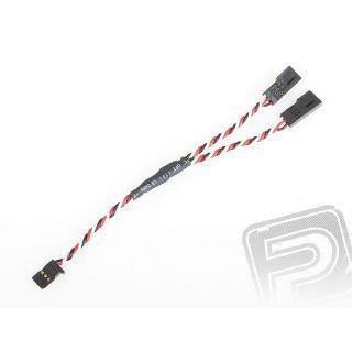 """4703 J """"Y""""-kabel FUT kroucený silný krátký (15cm)"""