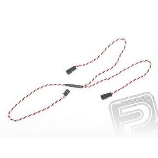 """4704 J """"Y""""-kabel FUT kroucený silný dlouhý (60cm)"""