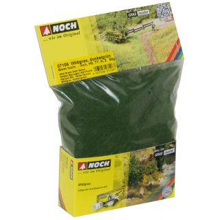 Divoká tráva, tmavozelená, 6mm, 50g