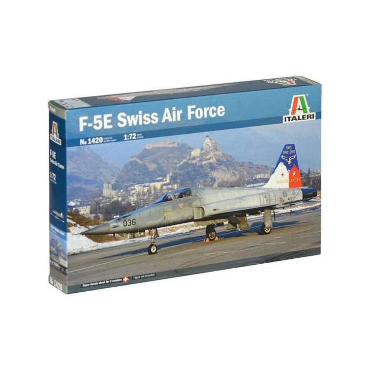 Model Kit letadlo 1420 - F-5E Swiss Air Force (1:72)