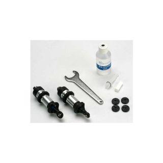 Traxxas - tlumič GTR hliník lesklý (2)