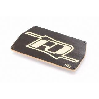 B6 mosazná deska elektroniky (černá)