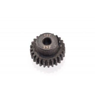48DP ocelový pastorek, 1 ks. (25 zubů)