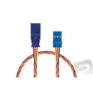 Prodlužovací kabel 50mm, JR 0,35qmm kroucený silikonkabel, 1 ks.