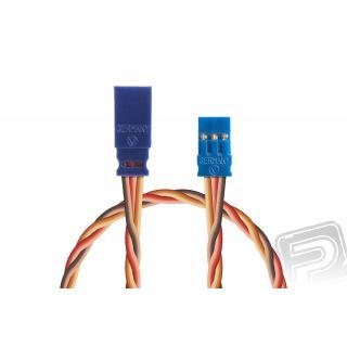 Prodlužovací kabel 250mm, JR 0,50qmm kroucený silikonkabel, 1 ks.