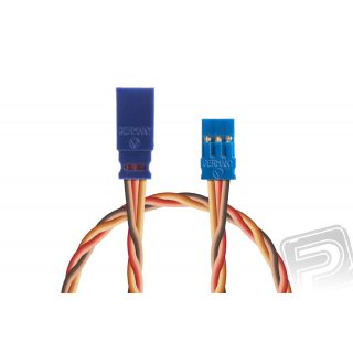 Prodlužovací kabel 750mm, JR 0,50qmm kroucený silikonkabel, 1 ks.