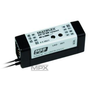 55821 Přijímač RX-12 DR compact M-LINK 2,4GHz