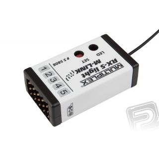 55808 Přijímač. RX-5 Light M-LINK 2,4GHz