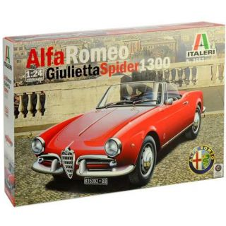 Model Kit auto 3653 - ALFA ROMEO GIULIETTA SPIDER 1300 (1:24)