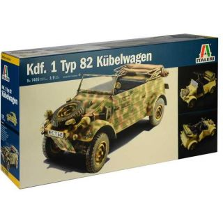 Model Kit military 7405 - Kdf.1 Typ 82 Kübelwagen (1:9)
