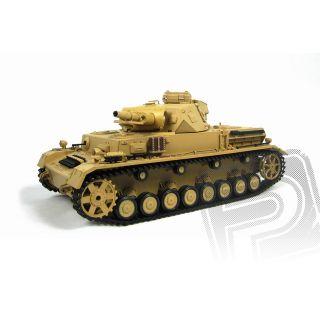 RC tank 1:16 Panzerkampfwagen IV Ausf. F-1 kouř. a zvuk. efekty