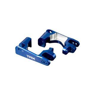Traxxas - hliníkový závěs těhlice modrý (P+L)