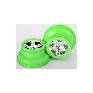 """Disk kola univ. 2.2/3.0"""" SCT chrom/zelený (2)"""