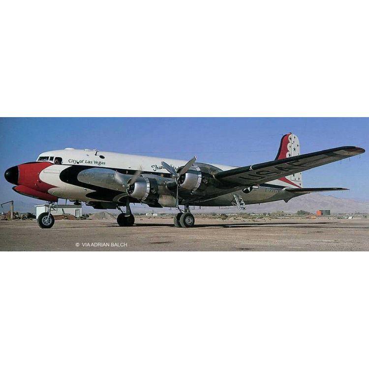 Plastic ModelKit letadlo 03920 - C-54D Blue Angels Platinum Edition (1:72)