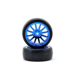 LaTrax - Kolo univ. slick / 12-spoke modrý (2)