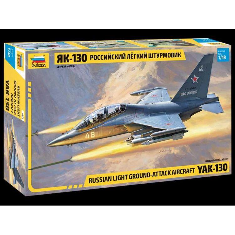 Model Kit letadlo 4821 - YAK-130 Russian trainer/fighter (1:48)