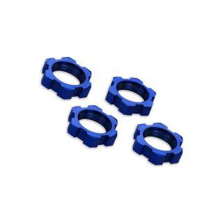 X-Maxx: Matice kol 17mm modré (4)