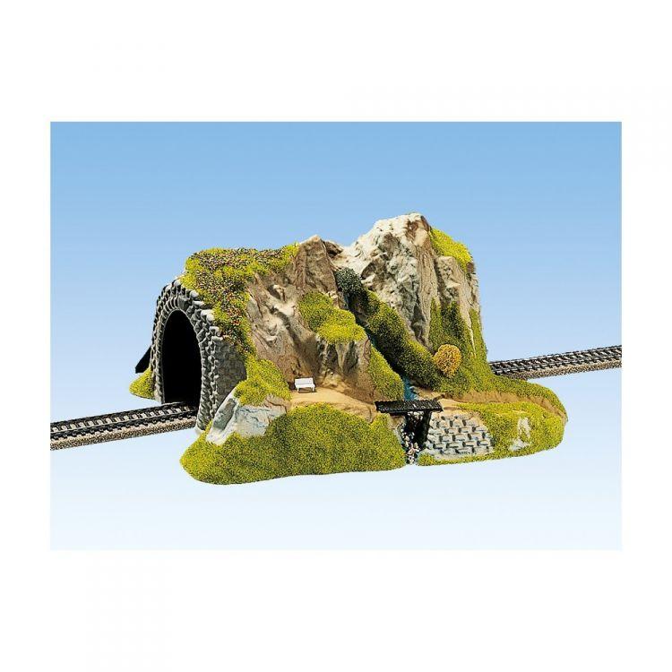 Tunel rovný - jednokolejný 34 x 24 cm