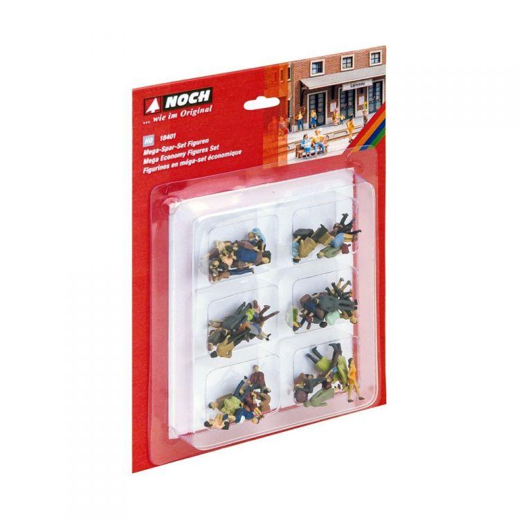 Mega úsporný set - 60 figuriek  18401