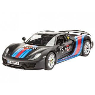 """Plastic ModelKit auto 07027 - Porsche 918 Spyder """"Weissach Sport Version"""" (1:24)"""