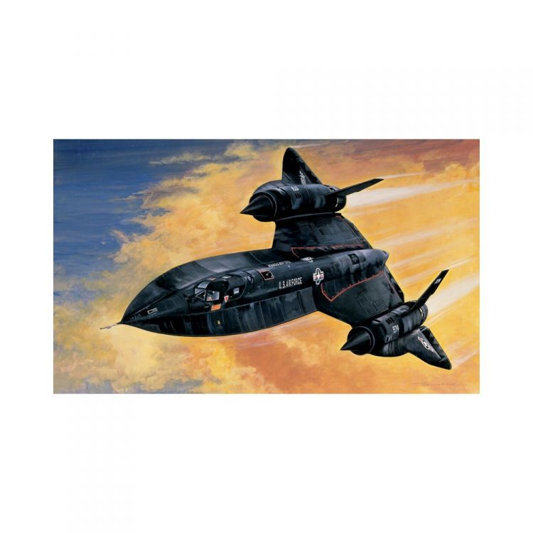 Model Kit letadlo 0145 - SR-71 BLACKBIRD with DRONE (1:72)