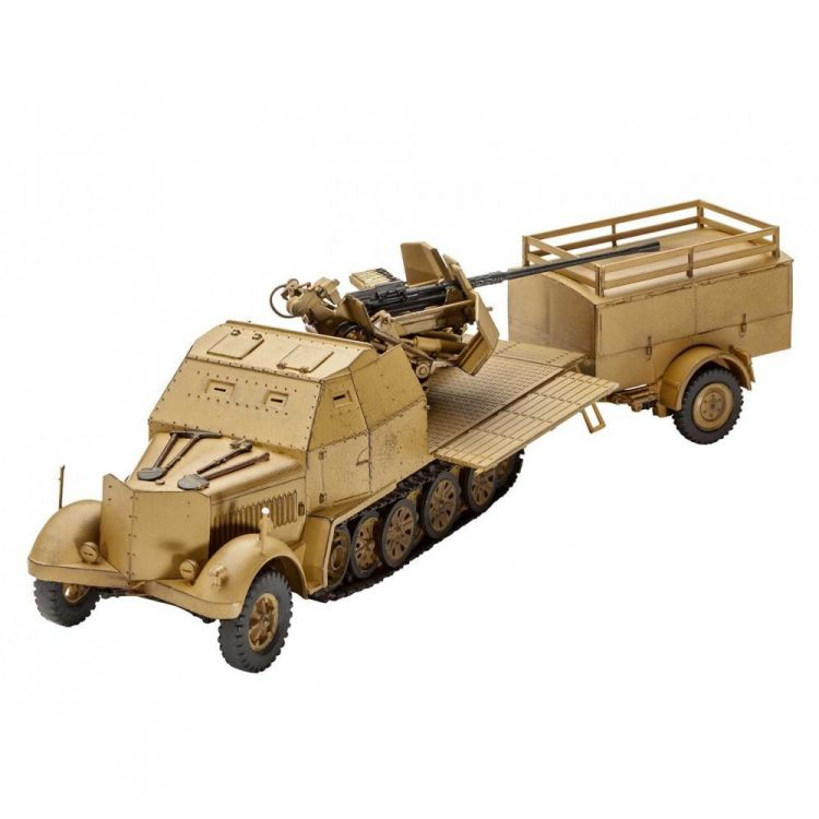 Plastic ModelKit military 03207 - Sd.Kfz. 7/2 (1:72)