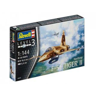 Plastic ModelKit letadlo 03947 - F-5E Tiger (1:144)
