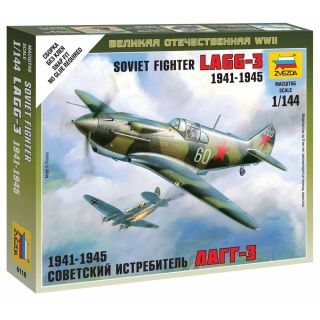 Wargames (WWII) lietadlo 6118 - Soviet Fighter LaGG-3 (1: 144)
