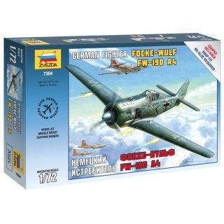Snap Kit lietadlo 7304 - FockeWulf 190 A4 (1:72)