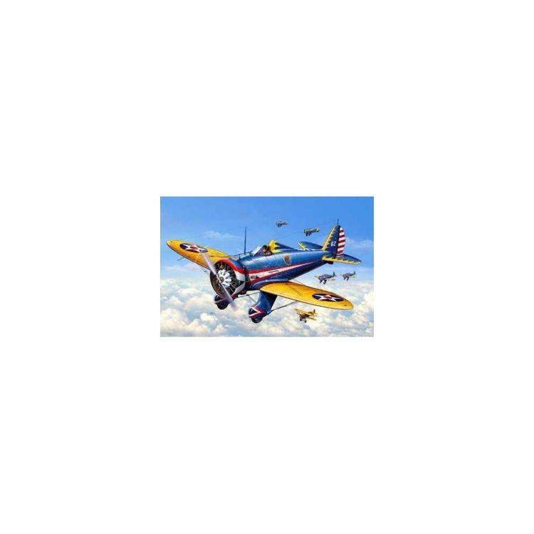 Plastic ModelKit letadlo 03990 - P-26A Peashooter (1:72)