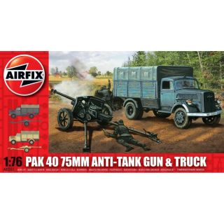 Classic Kit military A02315 - PAK 40 75mm Anti-Tank Gun & Truck (1:76)