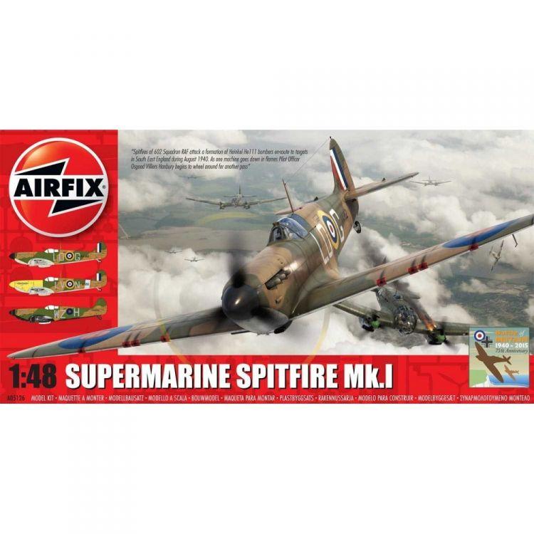 Classic Kit letadlo A05126 - Supermarine Spitfire Mk.I (1:48) - nová forma