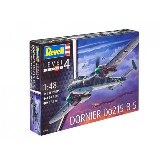 Plastic ModelKit letadlo 04925 - Dornier Do 215 B-5 Nightfighter (1:48)
