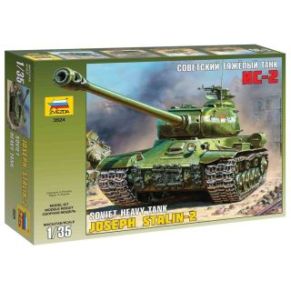 Model Kit tank 3524 - Jozef Stalin-2 Soviet Heavy Tank (1:35)