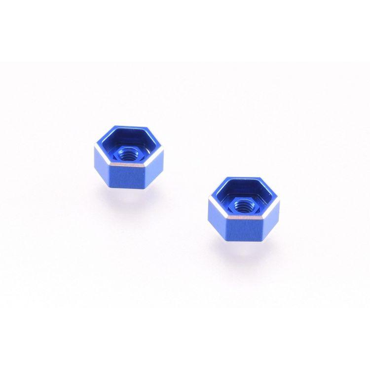 B6 modré hliníkové matky upevnění baterky