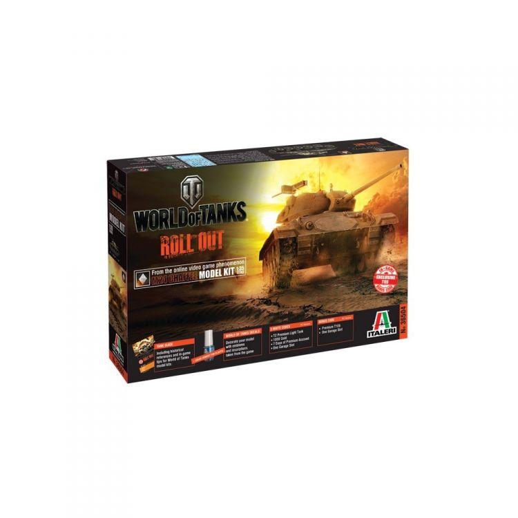 Model Kit World of Tanks 36504 - M24 CHAFFEE (1:35)