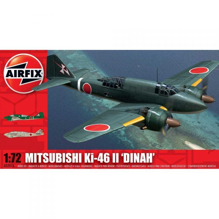 "Classic Kit letadlo A02016 - Mitsubishi KI-46-II ""DINAH"" (1:72)"