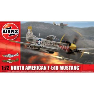 Classic Kit letadlo A02047 - North American F-51D Mustang (1:72)