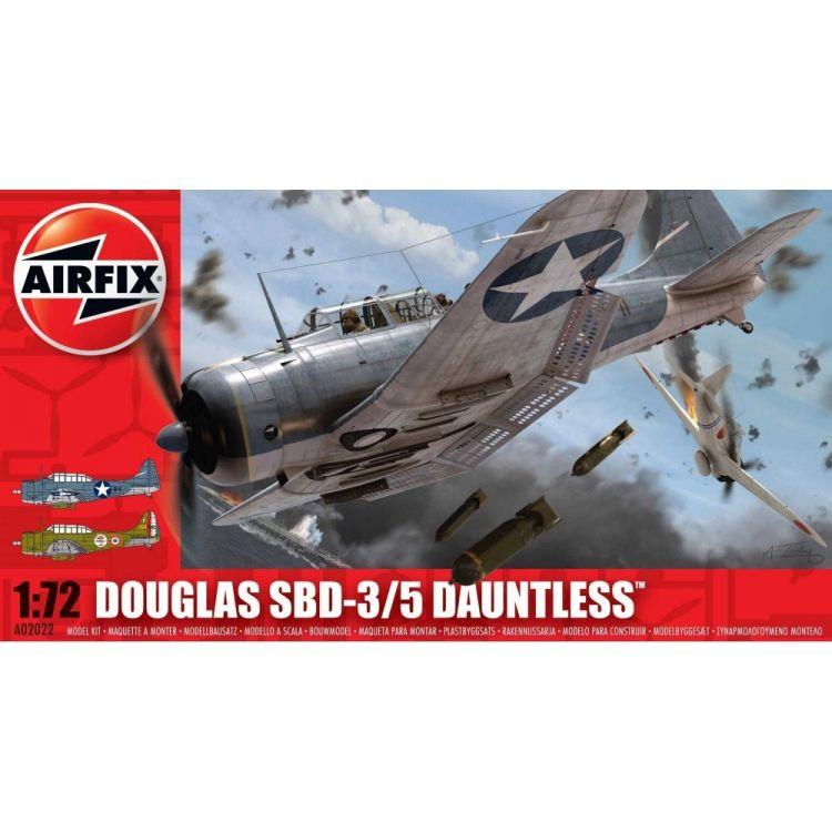 Classic Kit letadlo A02022 - Douglas Dauntless SBD 3/5 (1:72)