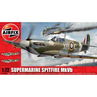 Classic Kit lietadlo A02046A - Supermarine Spitfire MkVb (1:72)
