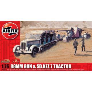 Classic Kit military A02303 - 88mm Gun & Sd Kfz7 Tractor (1:76)