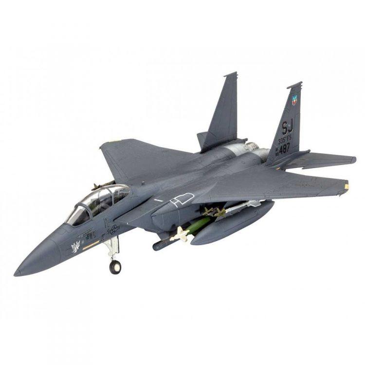 ModelSet letadlo 63972 - Model Set F-15E Strike Eagle & bombs (1:144)