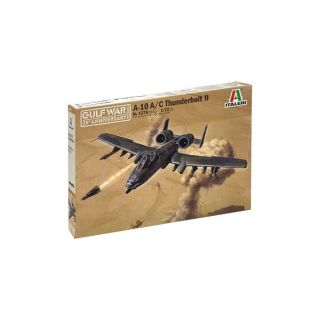 Model Kit letadlo 1376 - A-10 A/C THUNDERBOLT ll - GULF WAR(1:72)