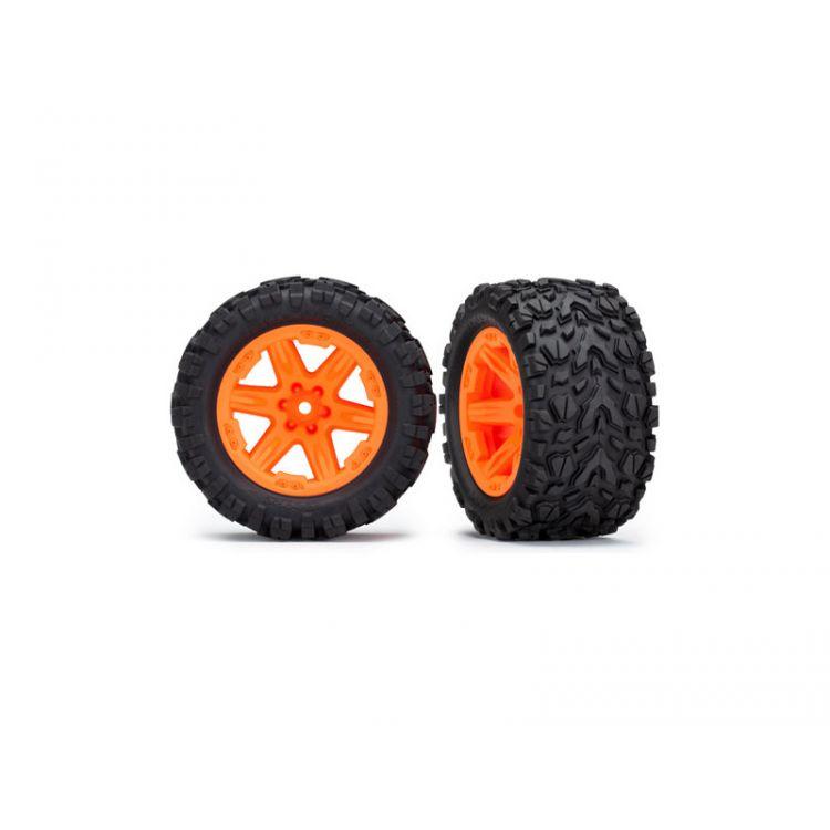 """Traxxas kolo 2.8"""", disk RXT oranžový, pneu Talon Extreme (pár) (zadní)"""