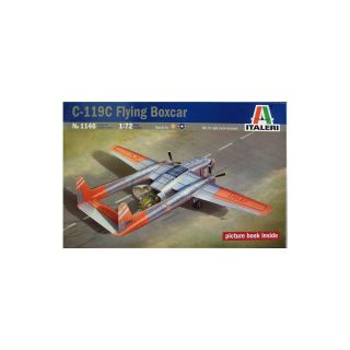 Model Kit letadlo 1146 - C-119C FLYING BOXCAR (1:72)