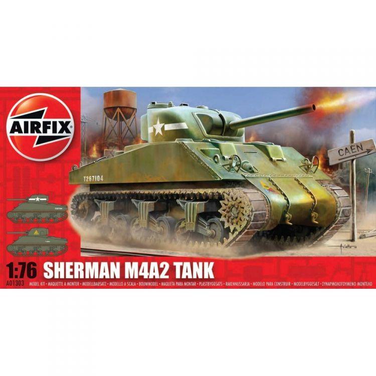 Classic Kit tank A01303 - Sherman M4 MkI Tank (1:76)